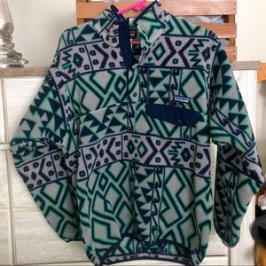 Rare Patagonia Synchilla T Snap Fleece Pullover